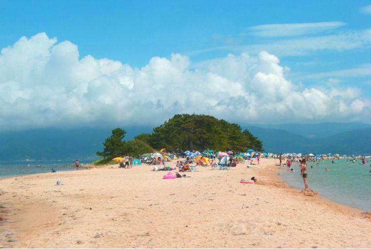 日本阳光与海滩